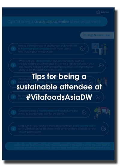 Download this pdf for tips for being a sustainable attendee