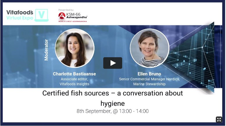 Access an on demand webinar about certification of fish sources for supplement brands